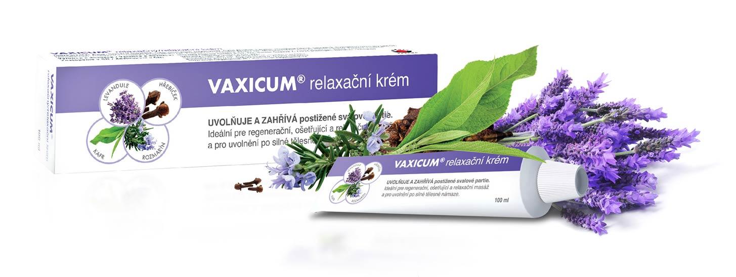 Vaxicum – relaxační krém